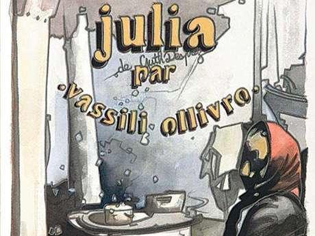 """Promenade contée : """"La gwerz de Julia"""" (de Guth Des Prez) par Vassili Ollivro."""