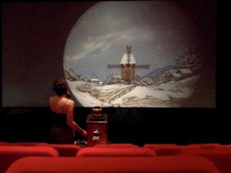 Projection et animation lanterne magique