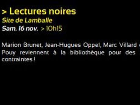 Lectures noires