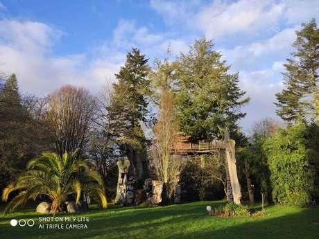 Les Cabanes du jardin de pierre
