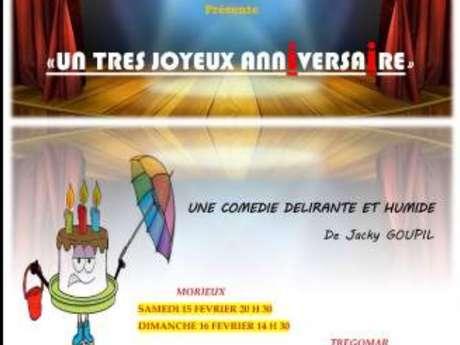 Théâtre - Un très joyeux anniversaire - ANNULÉ