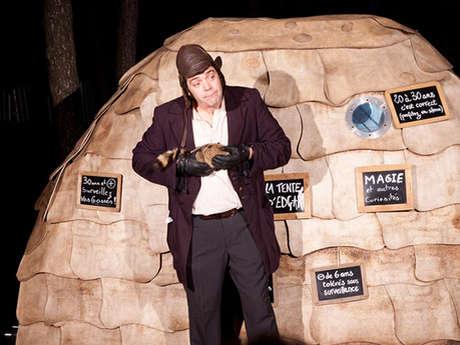 Festival Place aux Mômes - Spectacle La trappe à ressorts - La tente d'Edgar