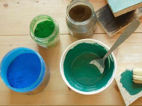 Atelier - Peintures au naturel - ANNULÉ
