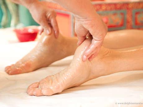 atelier massage ayurvédique des pieds