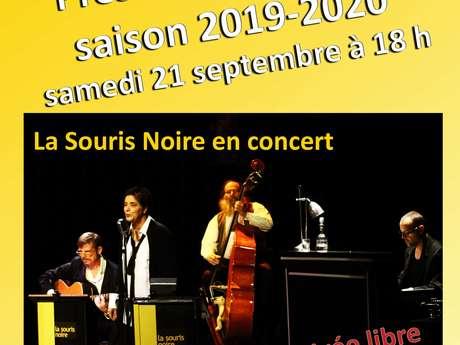 """Présentation de la saison 2019-2020 d'Erquy en Scène + Concert """"La souris noire"""""""