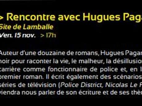 Rencontre avec Hugues Pagan