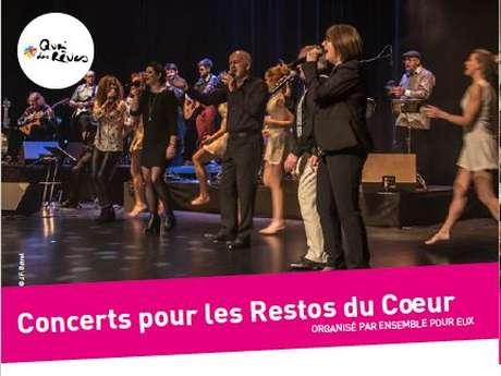 Concerts pour les Restos du Coeur
