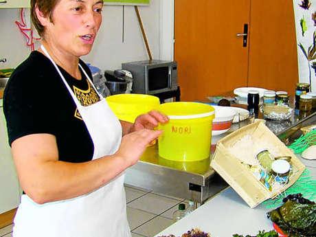 Atelier cuisine initiation sur les algues par Scarlette Le Corre