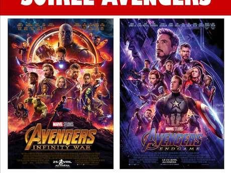 Soirée Avengers au Cinéma Les Korrigans