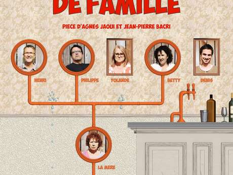 """Théâtre : """"Un air de famille"""""""