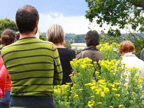 """Visite du jardin conçu avec la permaculture """"La Pâture es Chênes"""""""