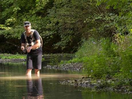 Initiation à la pêche aux leurres en rivière