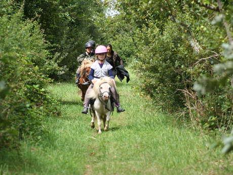 Stage poney à la ferme de Lanvern