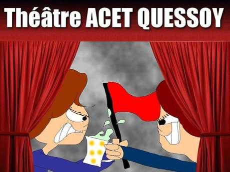 """Théâtre à Quessoy - """"Drapeau Rouge et Tasse de Thé"""""""