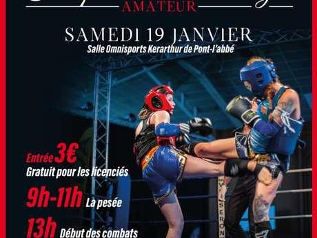 Boxe- Compétition de Muay Thai