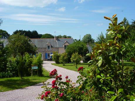 Maison en grès rose quartier Saint-Pabu à Erquy