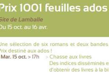 Prix 1001 feuilles ados