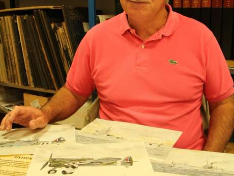 Claude Benech en dédicace à la librairie Mots et Images