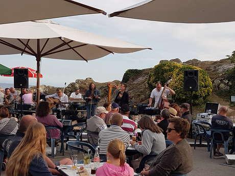 """Concert à Pors-poulhan au café bistrot """"Les côtiers"""""""