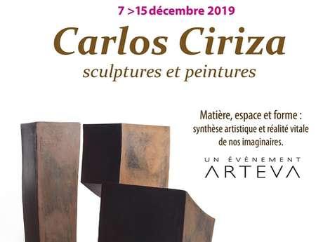 Carlos CIRIZA sculptures, peintures
