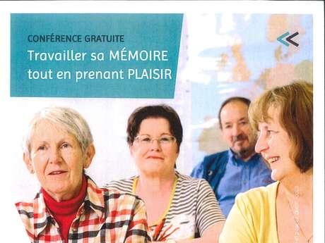 Conférence - Travailler sa mémoire tout en prenant plaisir