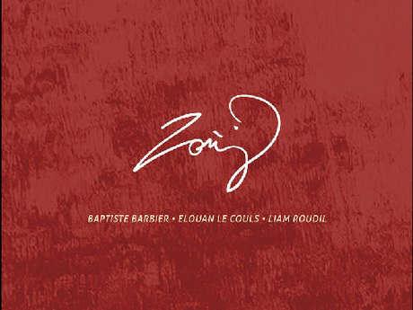 """Le groupe de fest noz """"Zonj"""" à Mots et Images"""