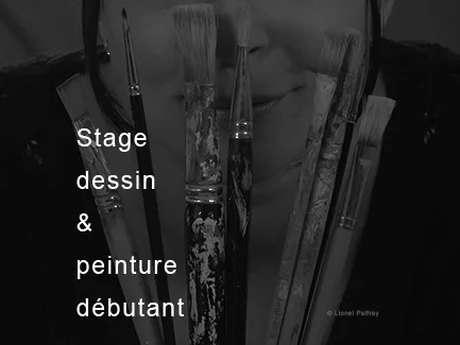Stage dessin & peinture - Débutant