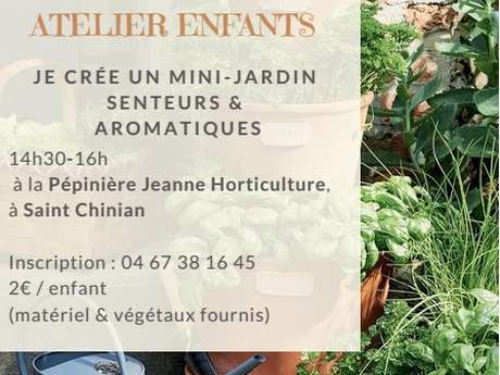 ATELIER DE LA PEPINIERE JEANNE HORTICULTURE
