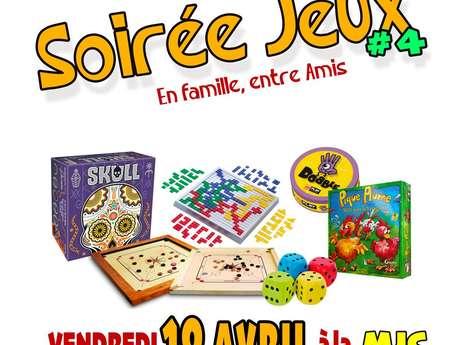 SOIRÉE JEUX