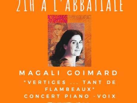 CONCERTS DE L'ÉTÉ : MAGALI GOIMARD