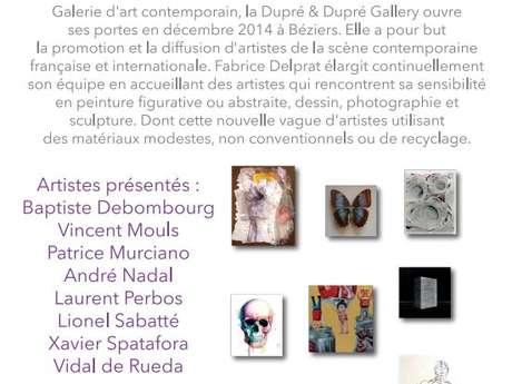 """GALERIE D'ART CONTEMPORAIN """"DUPRÉ & DUPRÉ GALLERY"""""""