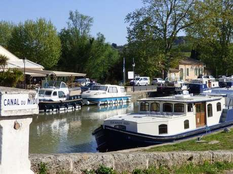 LE CANAL A VELO : CAPESTANG - POILHES