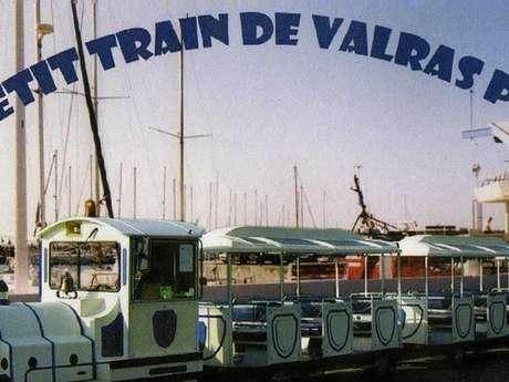 LE PETIT TRAIN TOURISTIQUE DE VALRAS-PLAGE