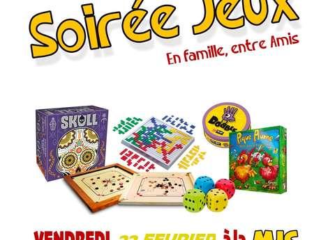 SOIREE JEUX