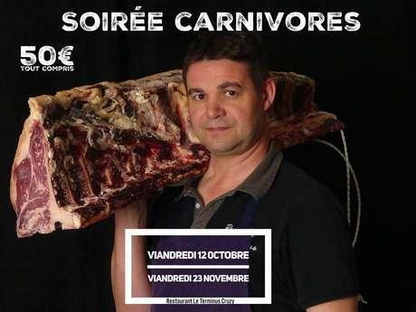 SOIREE CARNIVORES