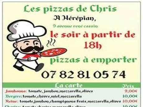 LES PIZZAS DE CHRIS