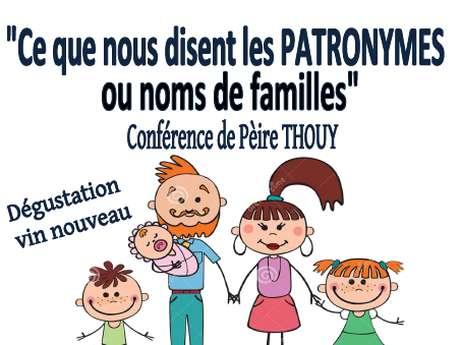 CONFÉRENCE DE PÈIRE THOUY