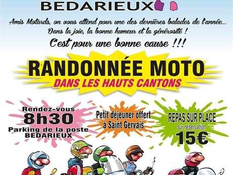 TÉLÉTHON 2019 : RANDONÉE MOTO DANS LES HAUTS CANTONS