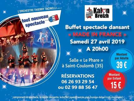 "Spectacle ""Made in France"""
