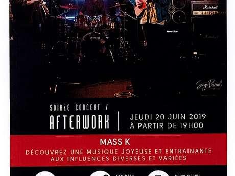 Soirée concert afterwork avec Mass K