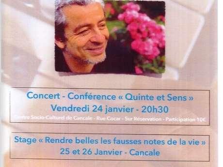 Concert et stages avec Marc Vella