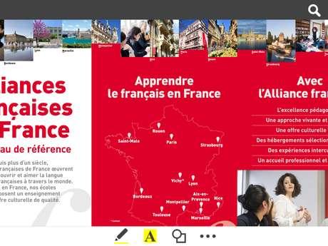 Alliance Française SAINT MALO BRETAGNE - Cours de français pour étrangers FLE