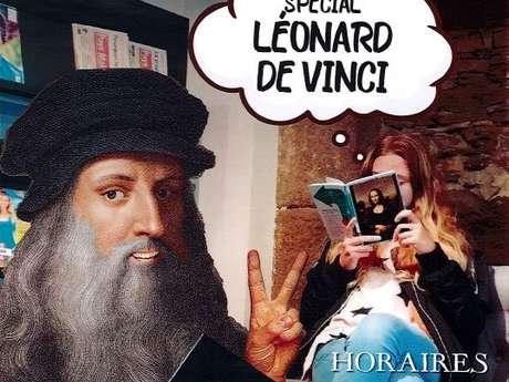 Les Heures du Conte, spécial Léonard de Vinci