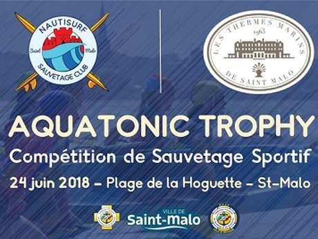 Aquatonic Trophy : sauvetage sportif