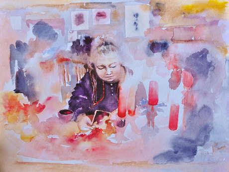 Artiste Peintre Marie-Clément Lebrenn