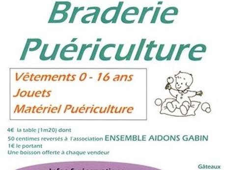 Braderie Puériculture