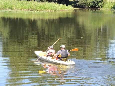 Location de canoës et pédalos au Domaine du Roc