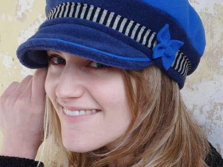 Emma Colin, créatrice de chapeaux