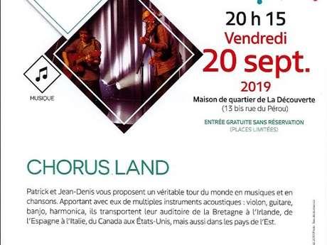 La culture dans tous ses quartiers : Chorus Land