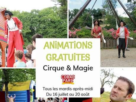 Animations gratuites à Cobac Parc